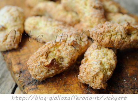 Biscotti alle noci veloci ricetta senza burro e olio