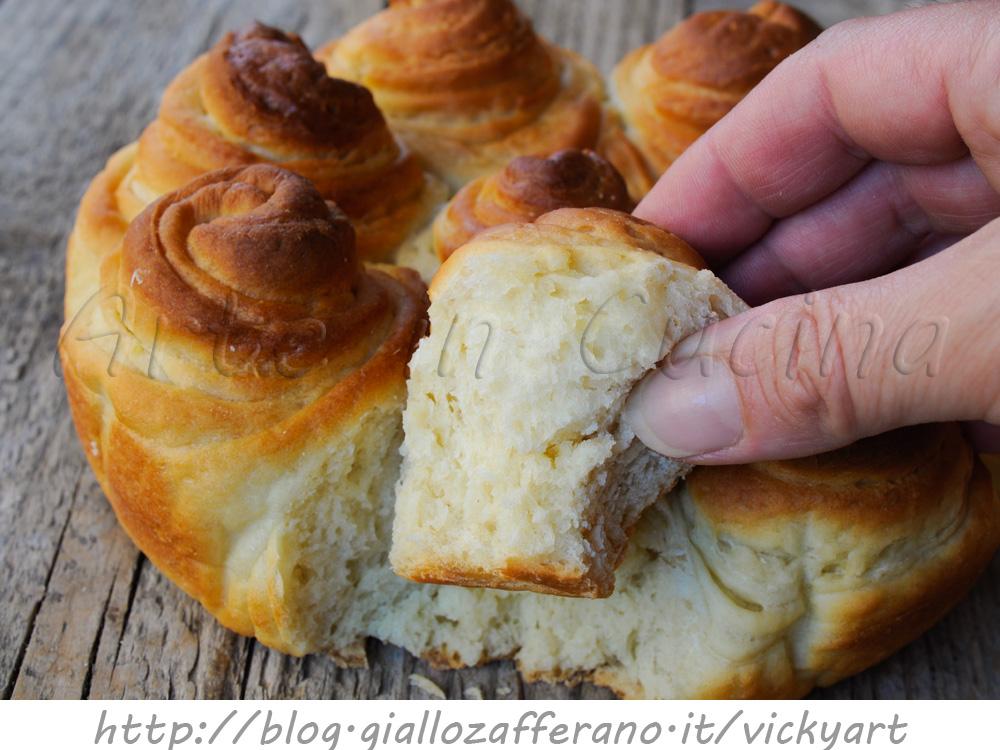 Brioche turca sfogliata ricetta facile torta dolce arte for Cucina dolce