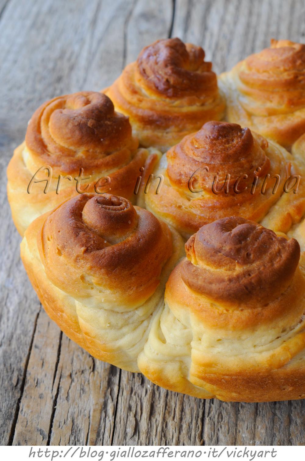 Brioche turca sfogliata ricetta facile torta dolce arte for Cucina facile ricette
