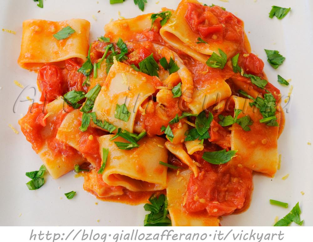 Ricette primi piatti con calamari ricette popolari della for Ricette cucina italiana primi piatti