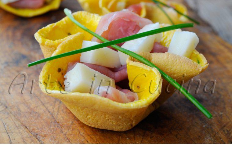 Cestini salati veloci senza sfoglia ricetta antipasto