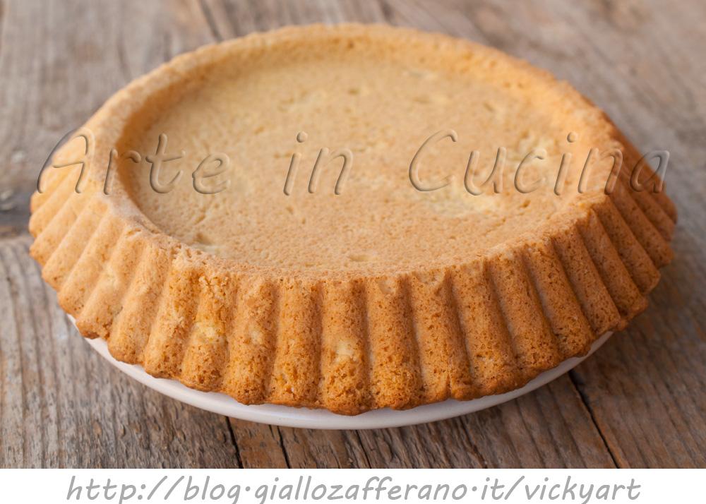 Crostata morbida ricetta base perfetta anche bimby vickyart arte in cucina