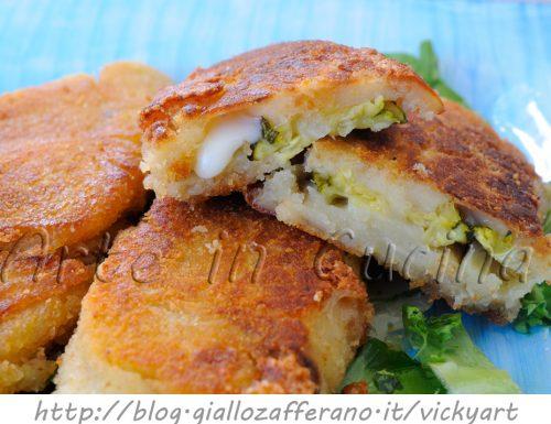 Involtini di patate e zucchine ricetta sfiziosa