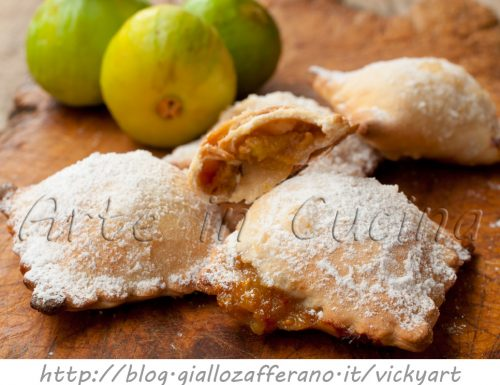 Panzerotti dolci con fichi e noci ricetta veloce
