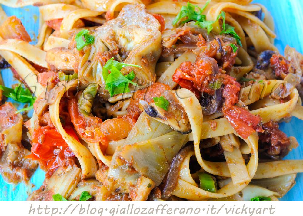 Ricetta di pasta ai frutti di mare