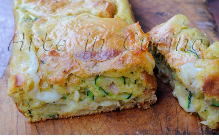 Plumcake con tonno e zucchine ricetta veloce