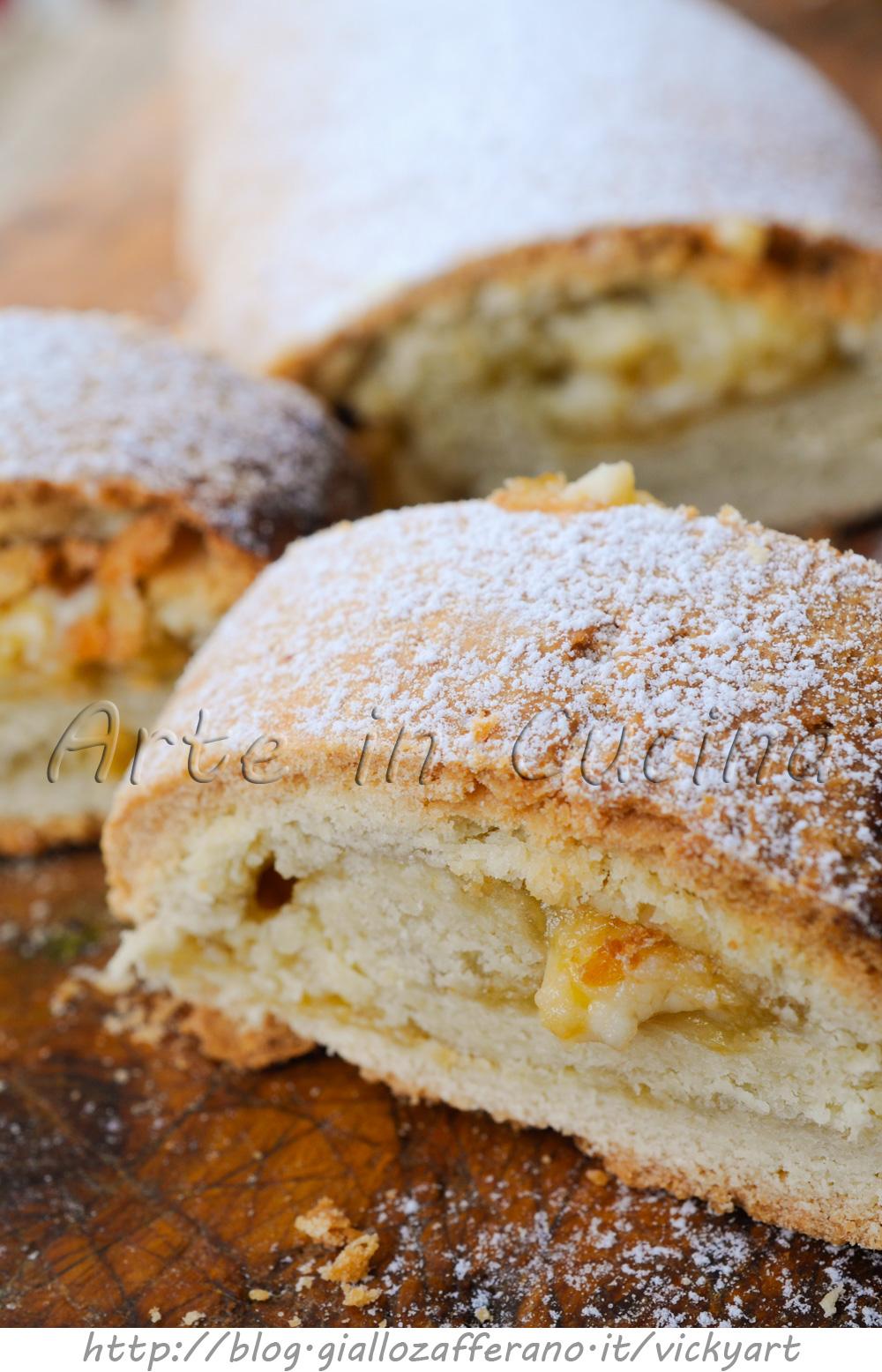 Rotolo di pasta frolla con marmellata e ricotta ricetta for Cucina facile ricette