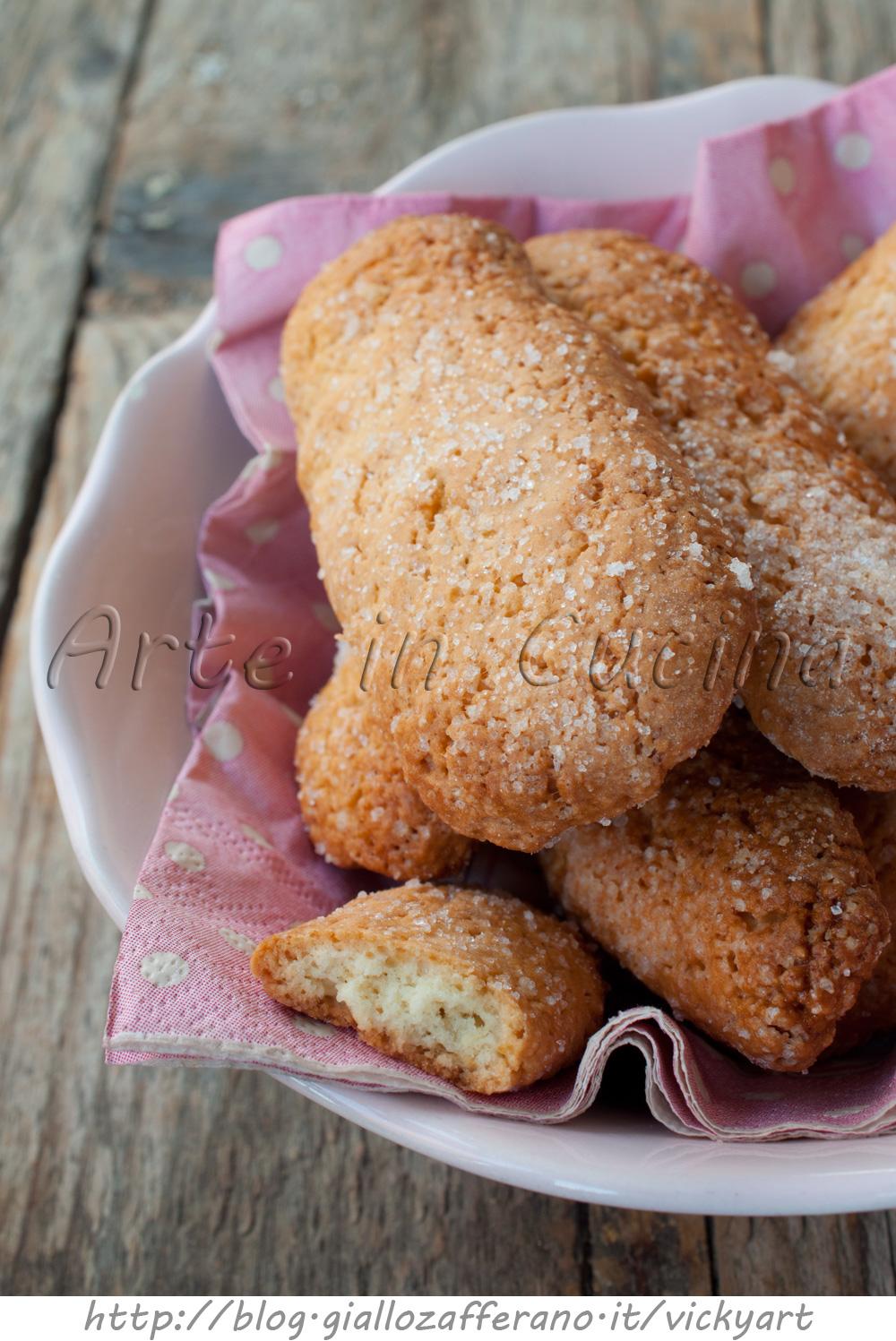 Savoiardi della nonna biscotti calabresi vickyart arte in cucina