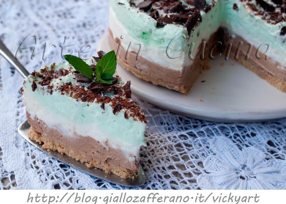 ... fredda alla menta cocco e cioccolato facile vickyarte arte in cucina