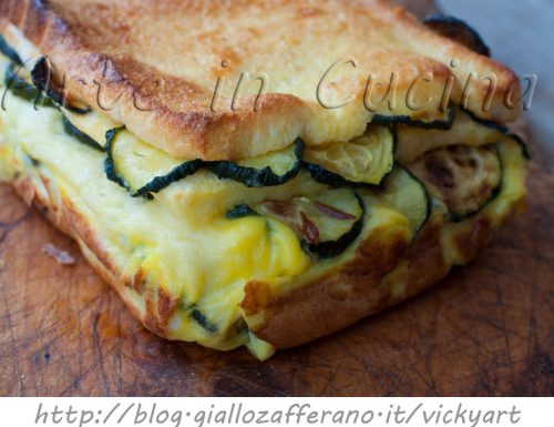 Torta di uova zucchine e pecorino ricetta facile