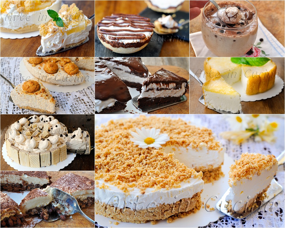 Torte e dolci facili per ferragosto ricette estive arte for Ricette di cucina italiana facili