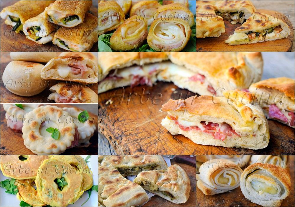 Torte salate e stuzzichini ricette in padella vickyart arte in cucina