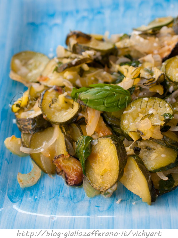 Zucchine a cassola con pecorino ricetta sarda vickyart rate in cucina
