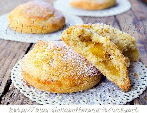 Biscotti cuor di mela e pinoli ricetta facile