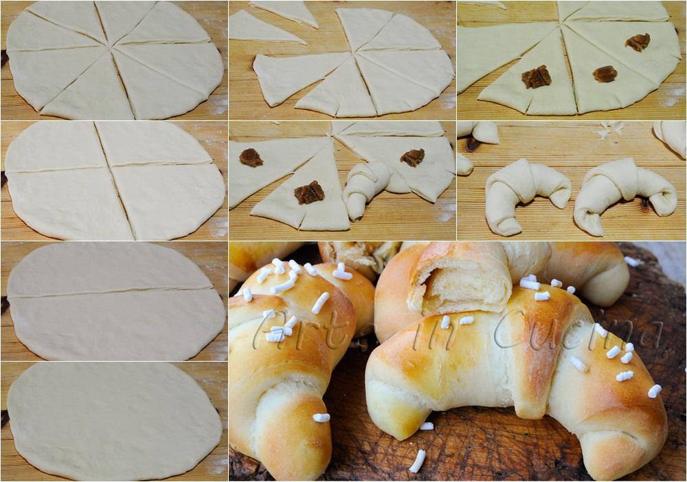 Cornetti allo yogurt soffici ricetta facile vickyart arte in cucina