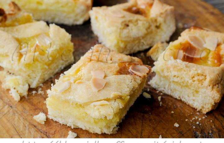 Crostata alla crema e mandorle ricetta dolce