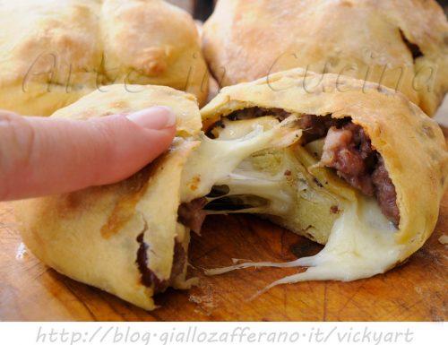 Fagottini di carne patate e funghi ricetta sfiziosa