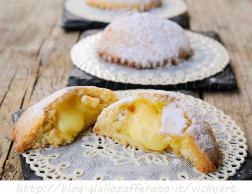 Genovesi dolci siciliani alla crema pasticcera