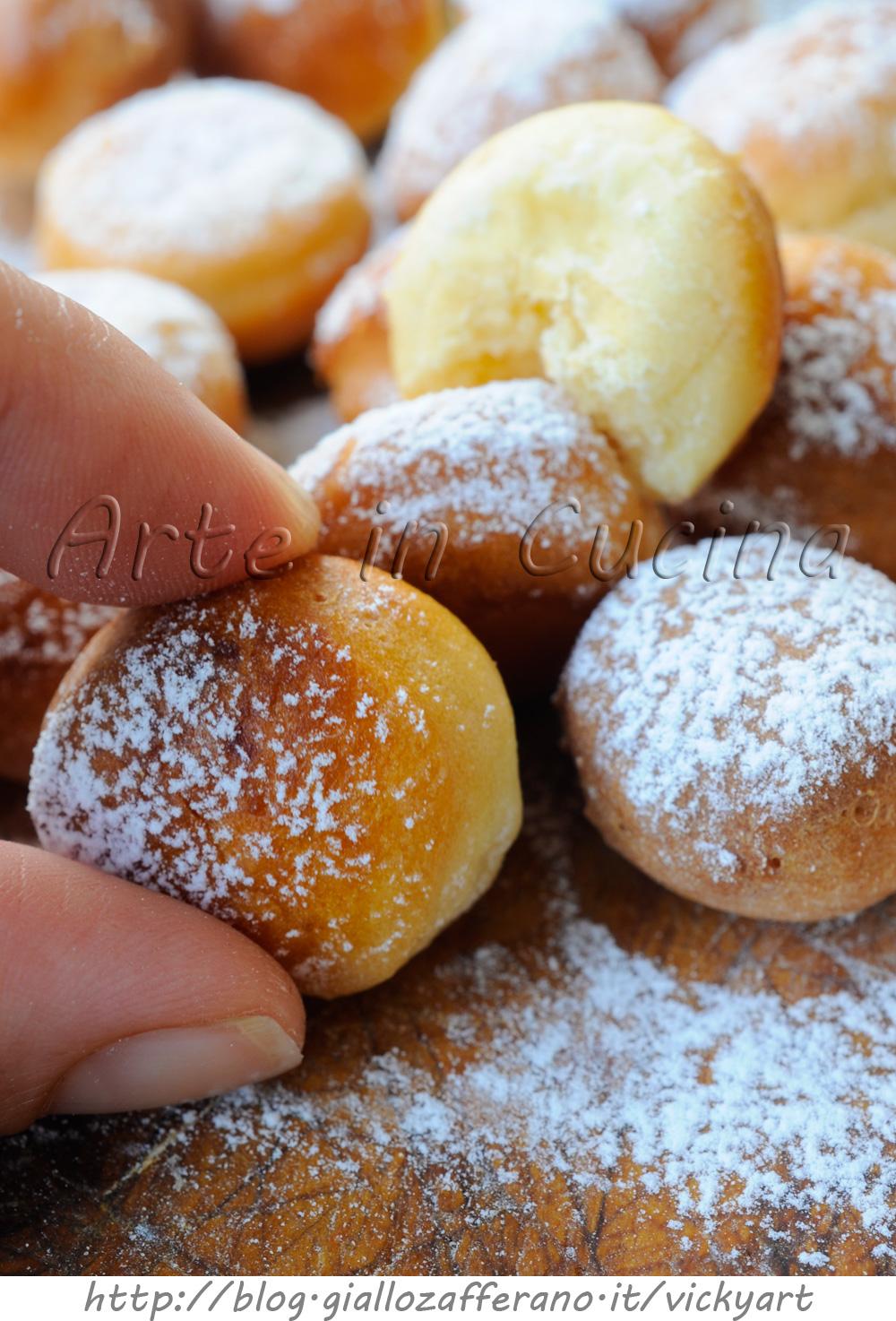 Estremamente Palline dolci lievitate ricetta sfiziosa per feste | Arte in Cucina ZV39
