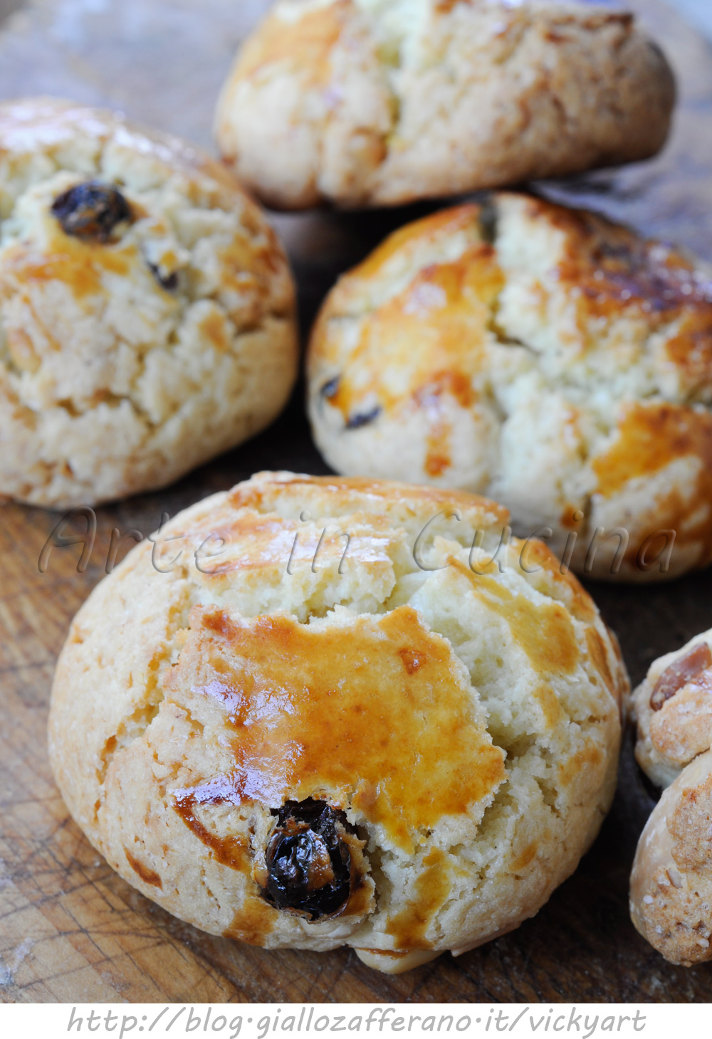 Pan del pescatore ricetta toscana biscottoni vickyart arte in cucina