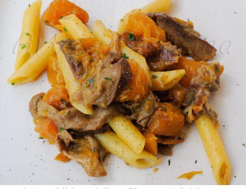 Pasta con zucca e funghi ricetta primo piatto facile