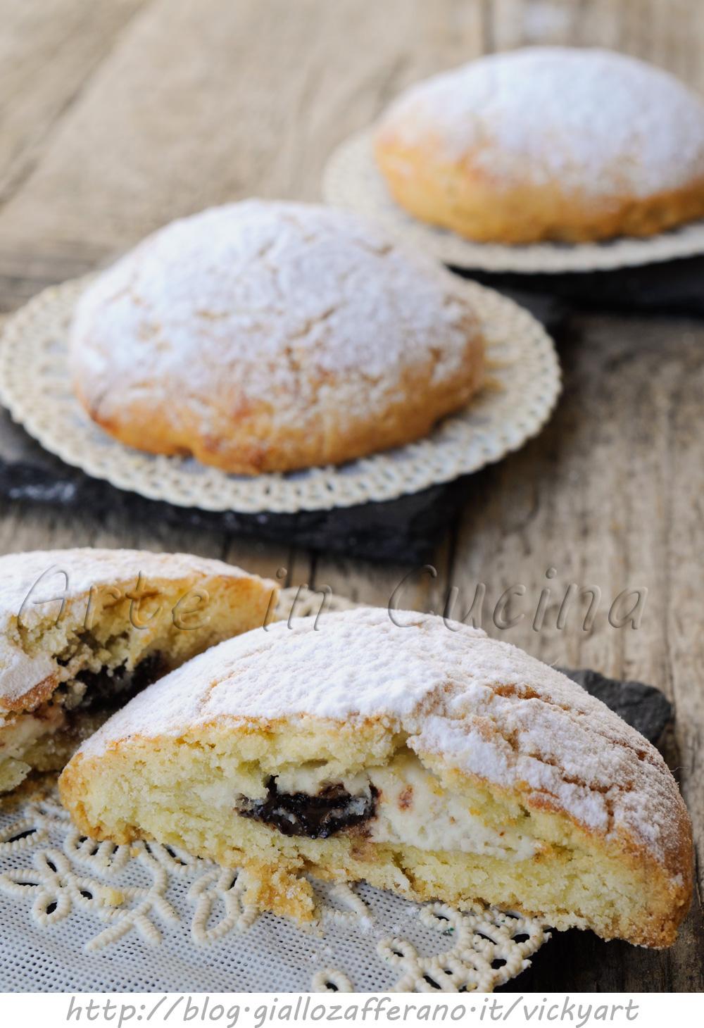 Spagnolette siciliane ripiene alla ricotta vickyart arte in cucina