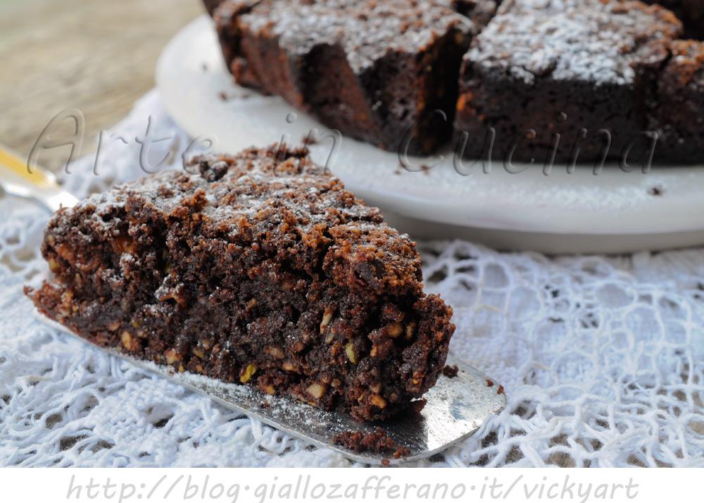 Ricetta di torta al cioccolato e mandorle