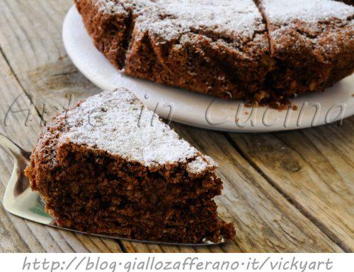 Torta sabbiosa al cioccolato ricetta dolce facile