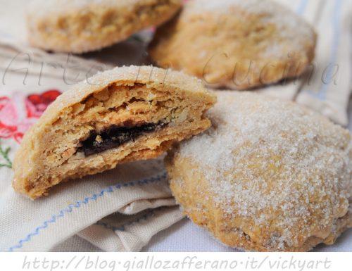 Biscotti integrali nocciole e cioccolato ricetta facile