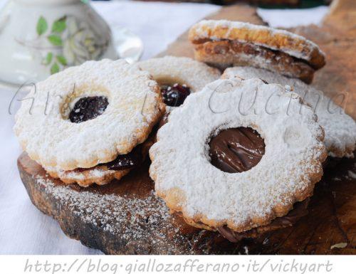 Biscotti occhio di bue ricetta facile