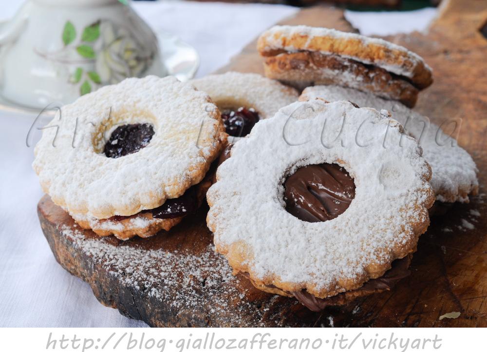 Biscotti Occhio Di Bue Ricetta Facile E Veloce