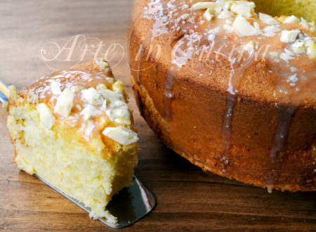 Chiffon cake limoncello e cioccolato bianco