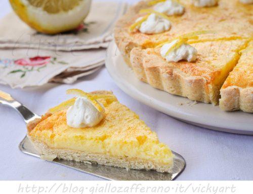 Crostata di Santa Lucia limone e arancia ricetta veloce