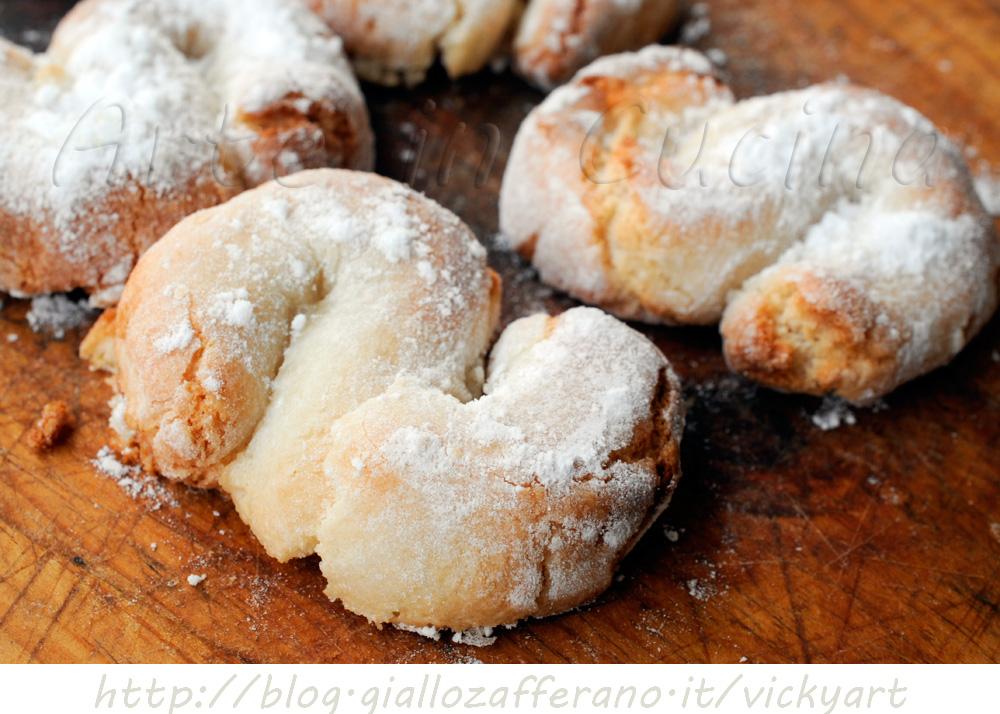 Dolci Siciliani Di Natale.Fiocchi Di Neve Ricetta Biscotti Siciliani Con Mandorle