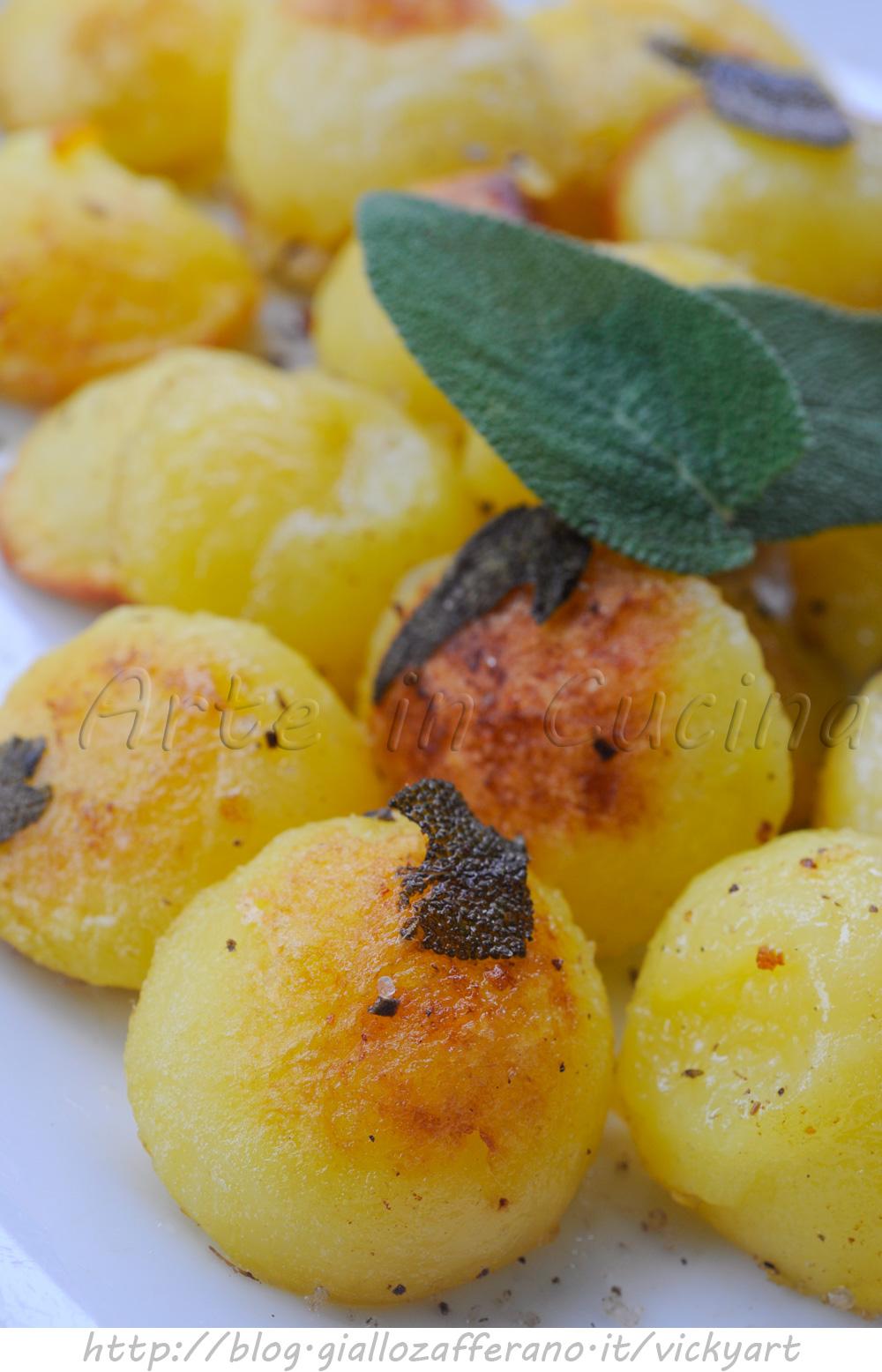 Patate alla parigina ricetta facile pomme parisienne vickyart arte in cucina