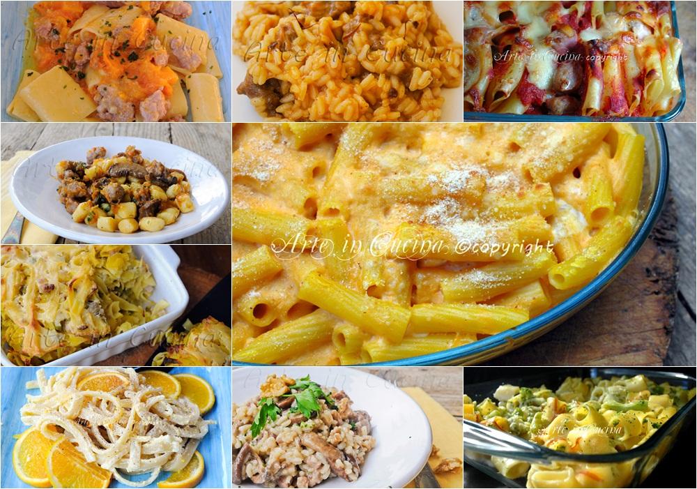 Primi piatti autunnali ricette facili arte in cucina for Ricette primi piatti veloci bimby