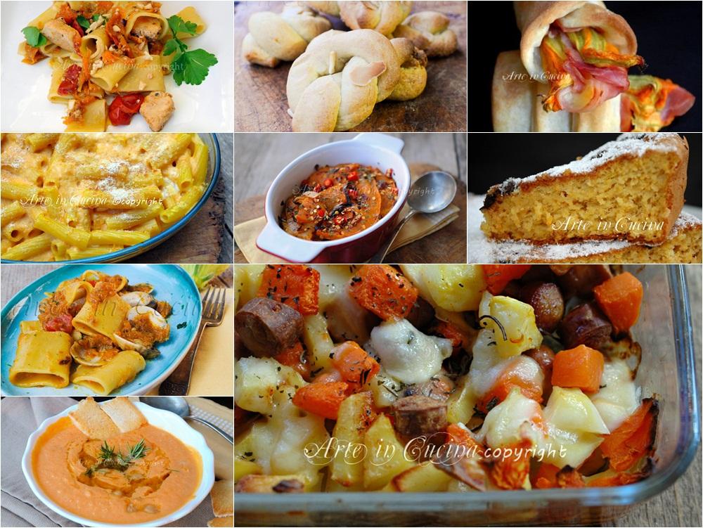 Ricette con la zucca facili dall 39 antipasto al dolce arte for Ricette facili cucina