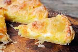 Rustico patate e fiordilatte ricetta veloce