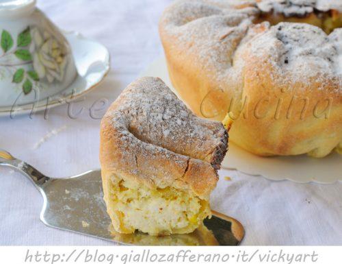 Soffione abruzzese alla ricotta ricetta dolce