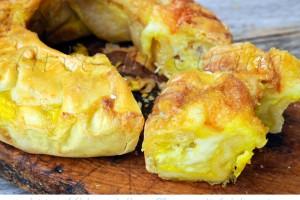 Soffione salato ai formaggi ricetta ciambella abruzzese