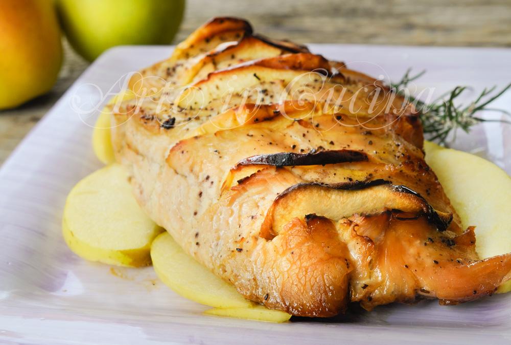 Tacchino alle mele ricetta facile e veloce vickyart arte in cucina