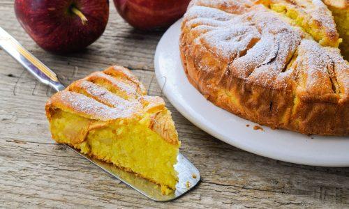 Torta di mele napoletana ricetta antica al marsala