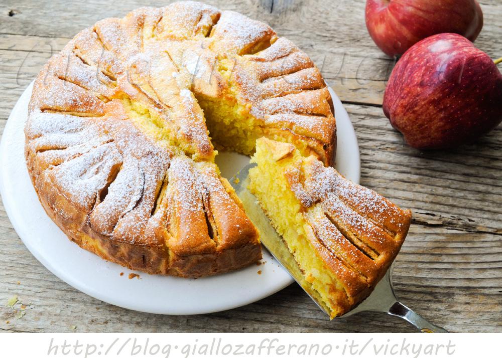 Torta di mele napoletana ricetta antica al marsala - Ricette cucina napoletana ...