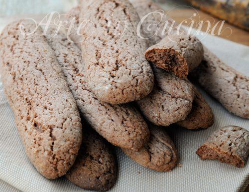 Biscotti del nonno al cacao facili e veloci
