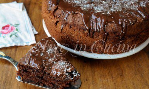 Chiffon cake cocco e cioccolato ricetta facile