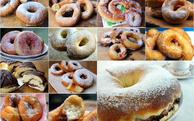 Ciambelle ricette dolci soffici e facili raccolta