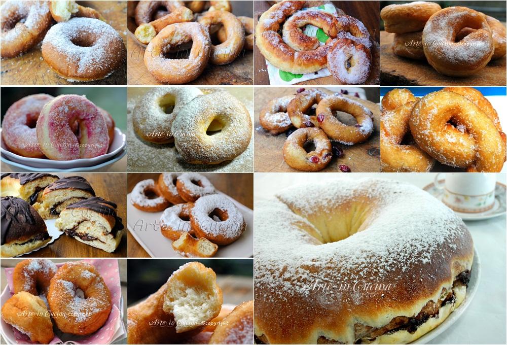 Ciambelle ricette dolci soffici e facili raccolta for Ricette facili dolci