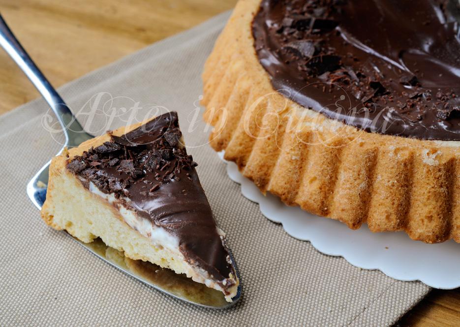 Crostata morbida ricotta e cioccolato facile e veloce vickyart arte in cucina