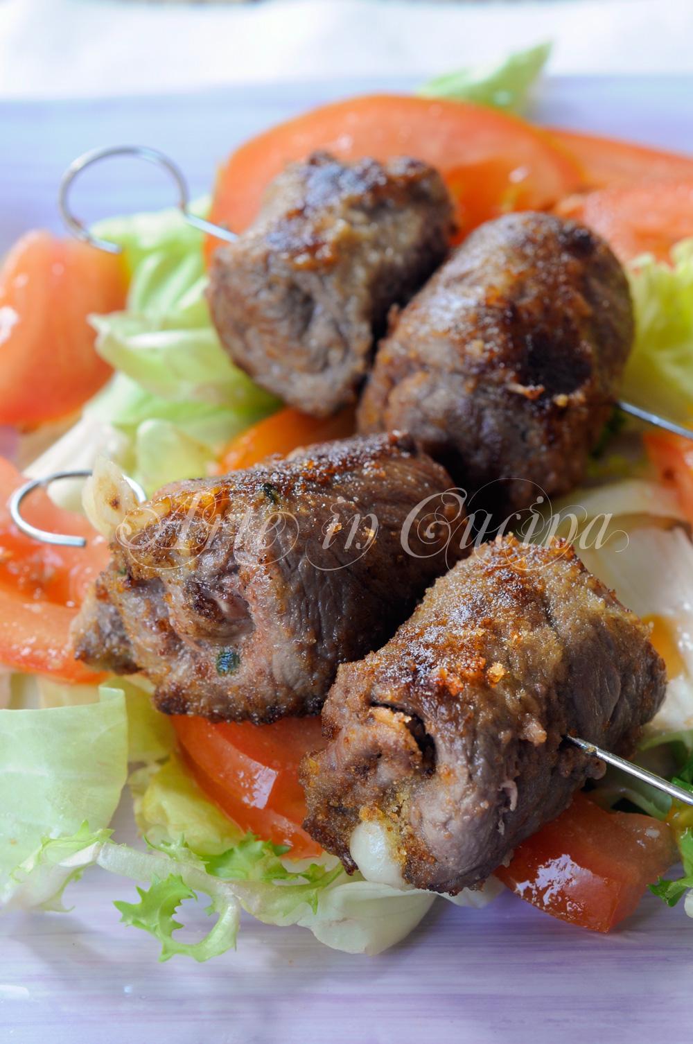 Involtini alla messinese braciole di carne ricetta facile vickyart arte in cucina