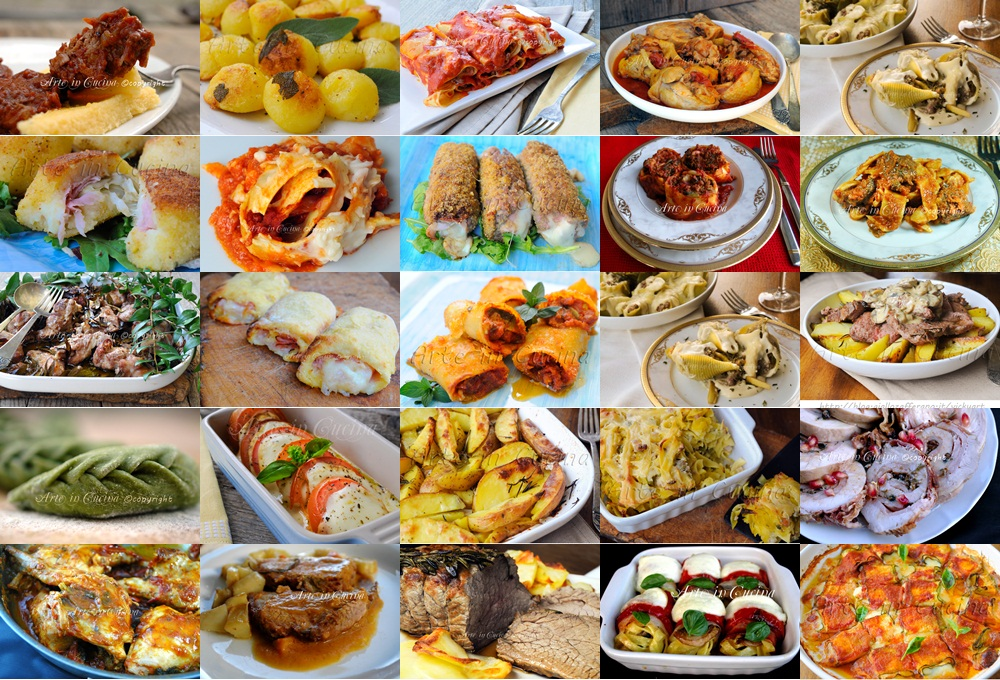 Menu natale 2015 ricette facili primi secondi contorni arte in cucina - Cosa cucino oggi a pranzo ...